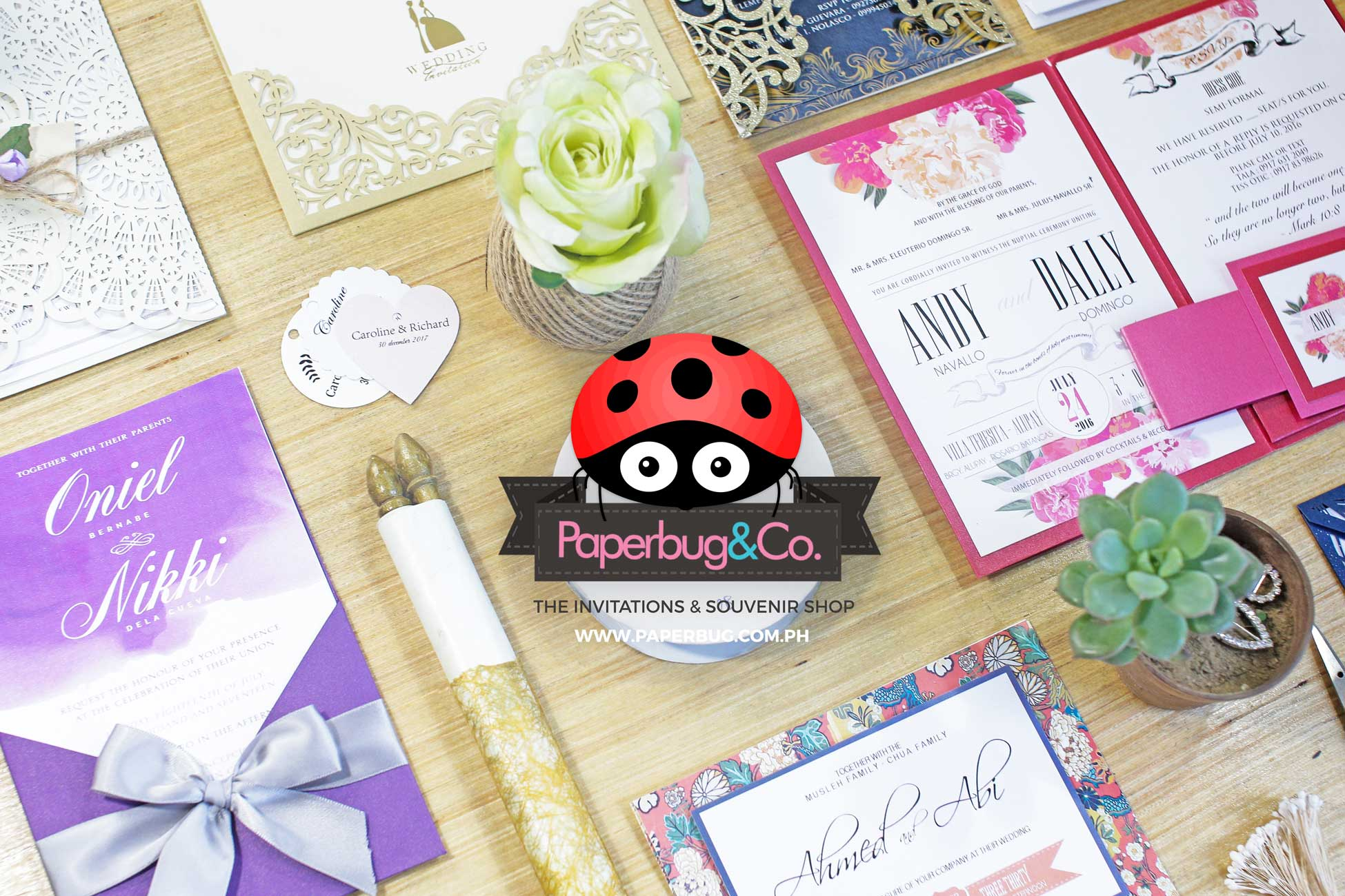 Fine Handmade Invites For Every Occasion