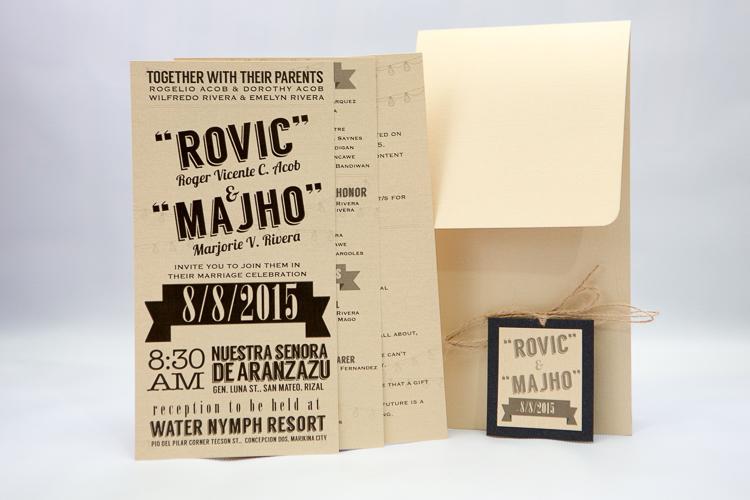 Paperbug co fine handmade invitations for weddings debut quick view stopboris Choice Image